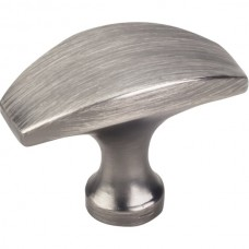 "Cosgrove Cabinet Knob (1-1/2"") - Brushed Pewter (382BNBDL) by Elements"