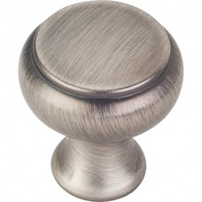 "Westbury Cabinet Knob (1-1/4"") - Brushed Pewter (3898BNBDL) by Elements"