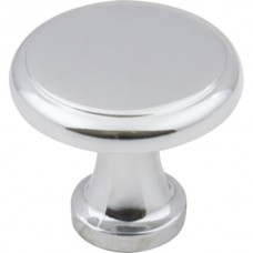 """Gatsby Cabinet Knob (1-1/8"""") - Polished Chrome (3970-PC) by Elements"""