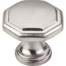 "Drake Geometric Cabinet Knob (1-3/16"") - Satin Nickel (424SN) by Elements"