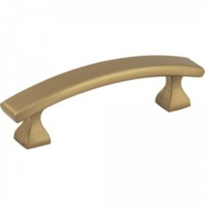 "Hadly Drawer Pull (3"" CTC) - Satin Bronze (449-3SBZ) by Elements"