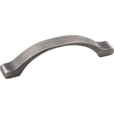 Seaver Drawer Pull (96mm CTC) - Brushed Pewter (511-96BNBDL) by Elements