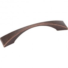 Glendale Drawer Pull (96mm CTC) - Distressed Oil Rubbed Bronze (525-96DMAC) by Elements