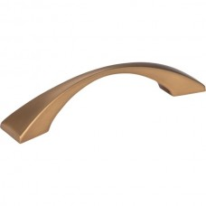 Glendale Drawer Pull (96mm CTC) - Satin Bronze (525-96SBZ) by Elements