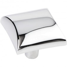 "Glendale Square Cabinet Knob (1"") - Polished Chrome (525PC) by Elements"