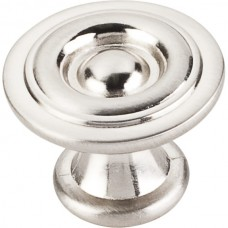 "Syracuse Modern Cabinet Knob (1-3/16"") - Satin Nickel (575SN) by Elements"