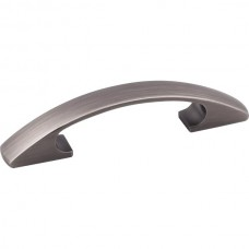 """Strickland Drawer Pull (3"""" CTC) - Brushed Pewter (771-3BNBDL) by Elements"""