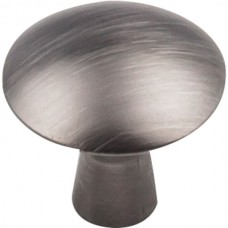 "Zachary Cabinet Knob (1-1/16"") - Brushed Pewter (988BNBDL) by Elements"