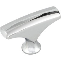 """Aiden Cabinet Knob (1-5/8"""") - Polished Chrome (993PC) by Elements"""