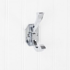 """Double Coat / Hat Hook (4-5/16"""") - Polished Chrome (YD45-431PC) by Elements"""