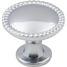 """Lindos Rope Cabinet Knob (1-1/4"""") - Polished Chrome (Z115PC) by Elements"""