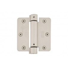 "3-1/2"" Self Closing Spring Hinges w/ 1/4"" Radius Corners (95023) by Emtek"