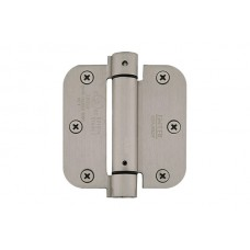 "3-1/2"" Self Closing Spring Hinges w/ 5/8"" Radius Corners (95033) by Emtek"
