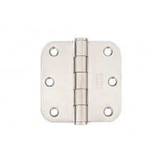 "3-1/2"" Residential Stainless Steel Hinges w/ 5/8"" Radius Corners (98133) by Emtek"