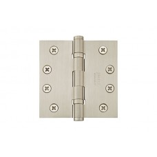 "4"" Ball Bearing Solid Brass Hinges w/ Square Corners (96414) by Emtek"