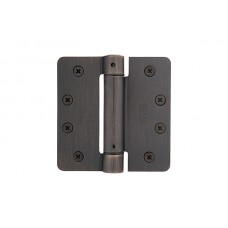 "4"" Self Closing Spring Hinges w/ 1/4"" Radius Corners (95024) by Emtek"