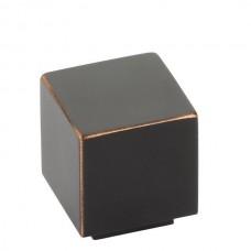 """Allerton Cabinet Knob (1"""") - Oil Rubbed Bronze (86700) by Emtek"""