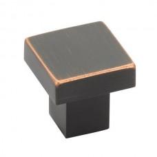 """Hunter Cabinet Knob (1-1/4"""") - Oil Rubbed Bronze (86702) by Emtek"""