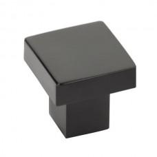 """Hunter Cabinet Knob (1-1/4"""") - Flat Black (86702) by Emtek"""