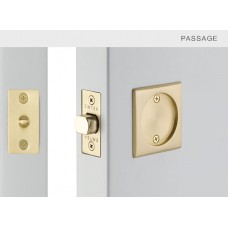 Square Passage Tubular Pocket Door Set (2134) by Emtek