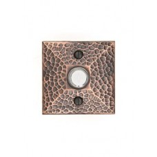Arts & Crafts Hammered Door Bell Button (2452) by Emtek