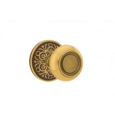 Belmont Knob Door Set w/ Lancaster Rosette (8106) by Emtek