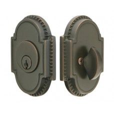Brass Knoxville Deadbolt (8459) by Emtek