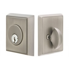 Brass Rectangular Deadbolt (8468) by Emtek