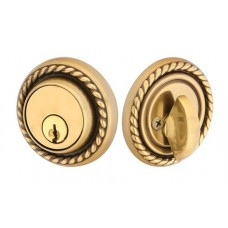 Brass Rope Deadbolt (8464) by Emtek