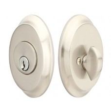 Brass Saratoga Deadbolt (8458) by Emtek