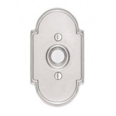 Brass Type 8 Door Bell Button (2408) by Emtek