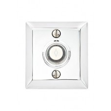 Brass Quincy Door Bell Button (2409) by Emtek