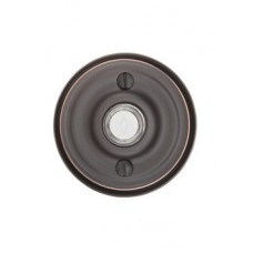 Brass Regular Door Bell Button (2400) by Emtek