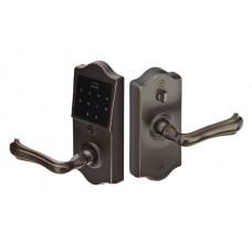 Classic EMTouch Electronic Keypad Lever Set (E4002) by Emtek