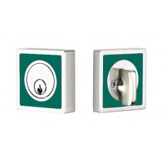 Contemporary Color Martinique Deadbolt (L8469) by Emtek