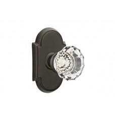 Astoria Crystal Knob Door Set w/ Type 8 Rosette (8108) by Emtek