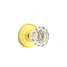 Astoria Crystal Knob Door Set w/ Regular Rosette (8100) by Emtek