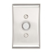 Modern Neos Door Bell Button (2460) by Emtek