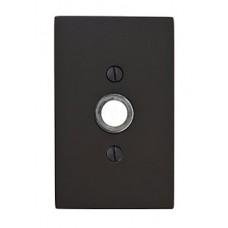Modern Rectangular Door Bell Button (2463) by Emtek