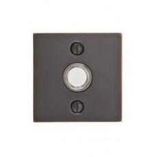 Modern Square Door Bell Button (2459) by Emtek