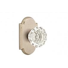 Astoria Crystal Knob Door Set w/ Type 1 Rosette (7108) by Emtek