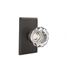 Astoria Crystal Knob Door Set w/ Type 3 Rosette (7104) by Emtek
