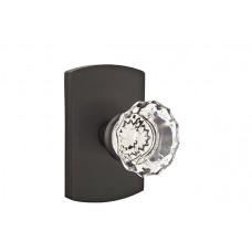 Astoria Crystal Knob Door Set w/ Type 4 Rosette (7100) by Emtek