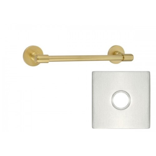 Emtek Transitional Brass 18 Quot Towel Bar 29026