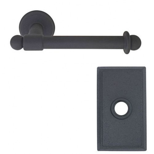 Emtek Wrought Steel Single Post Toilet Paper Holder 2503