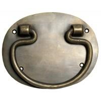 Bail w/ Oval Backplate Bail Pull - Custom Finishes (HBA2020) by Gado Gado