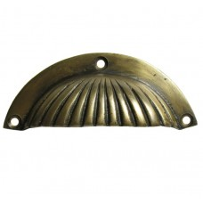 Shell Bin Pull - Antique Brass (HBP7016) by Gado Gado