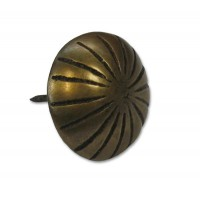 Ribbed Round Clavos - Custom Finishes (HCL1136) by Gado Gado
