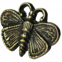 Moth Motif Clavos - Custom Finishes (HCL1160) by Gado Gado
