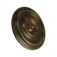 Round Double Ring Clavos - Antique Brass (HCL1188) by Gado Gado